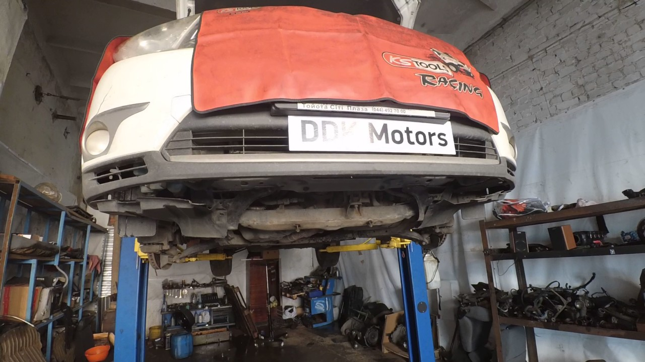 Снятие и установка двигателя хайлендер Замена ролика-натяжителя ford focus 2