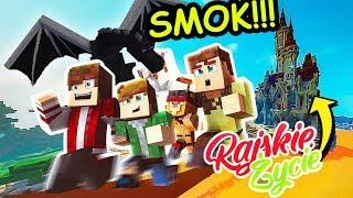 ZDENERWOWALIŚMY SMOKA OSŁA?! Minecraft Rajskie Życie Sezon II - ODCINEK 4
