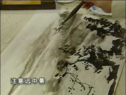 Chinese painting landscape perspective 2