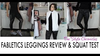 Fabletics Try On Haul & Squat Test