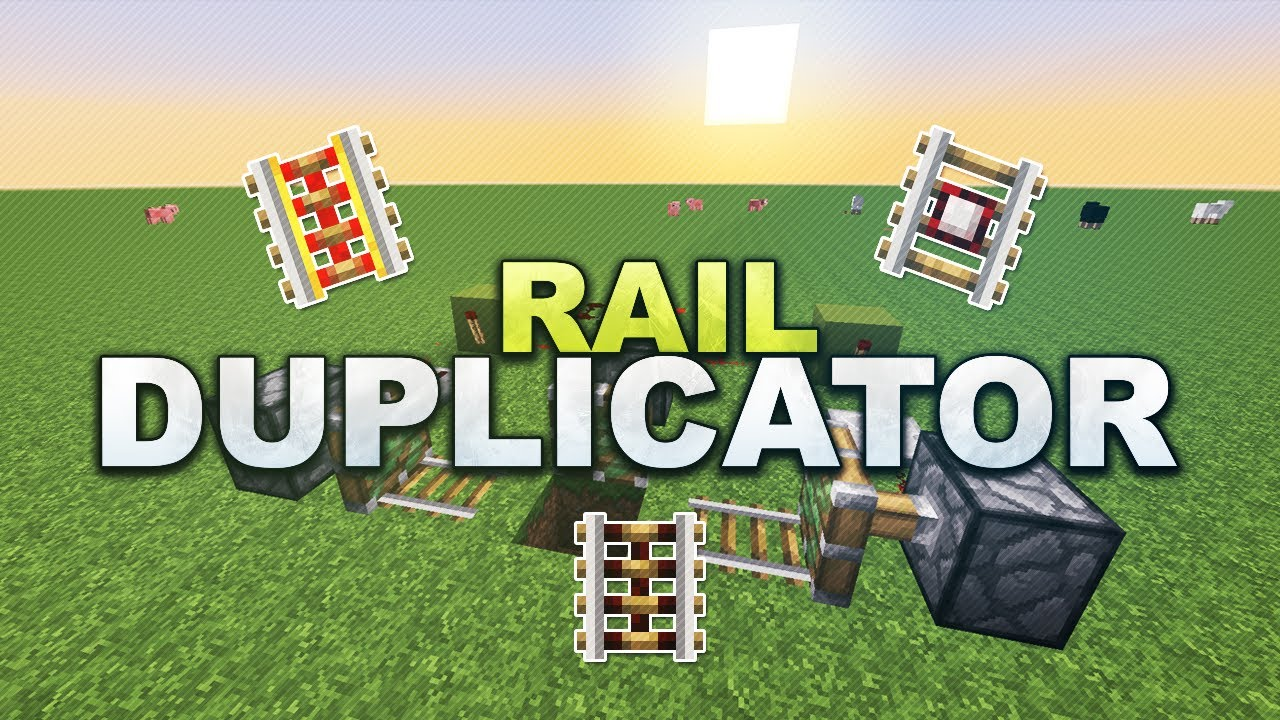how to build powered rails in minecraft