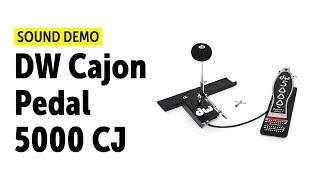 DW Cajon Pedal 5000 CJ Demo (no talking)
