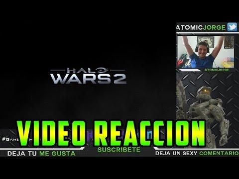 Halo Wars 2 Vídeo Reacción