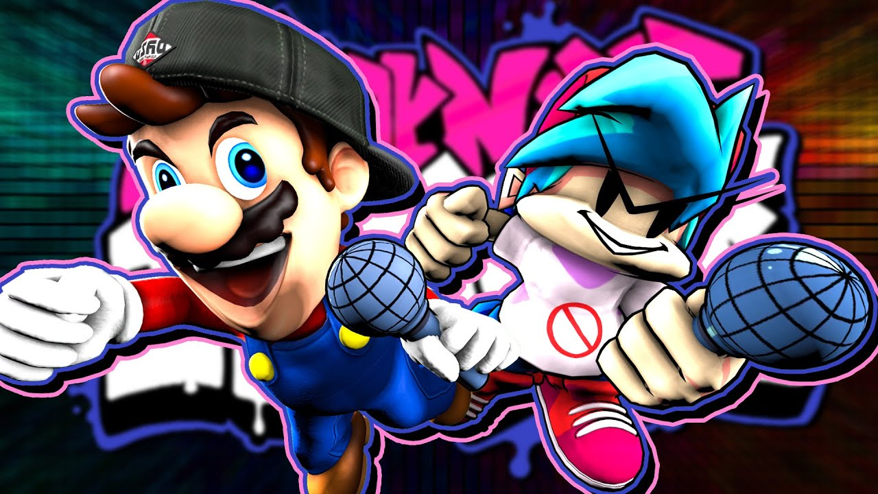 Download SMG4: If Mario Was In Friday Night Funkin 2