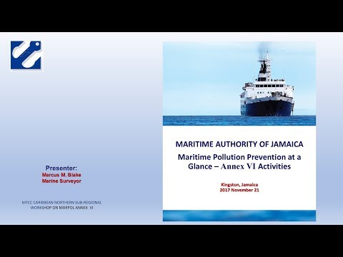 Country Report on the implementation of MARPOL Annex VI - Jamaica