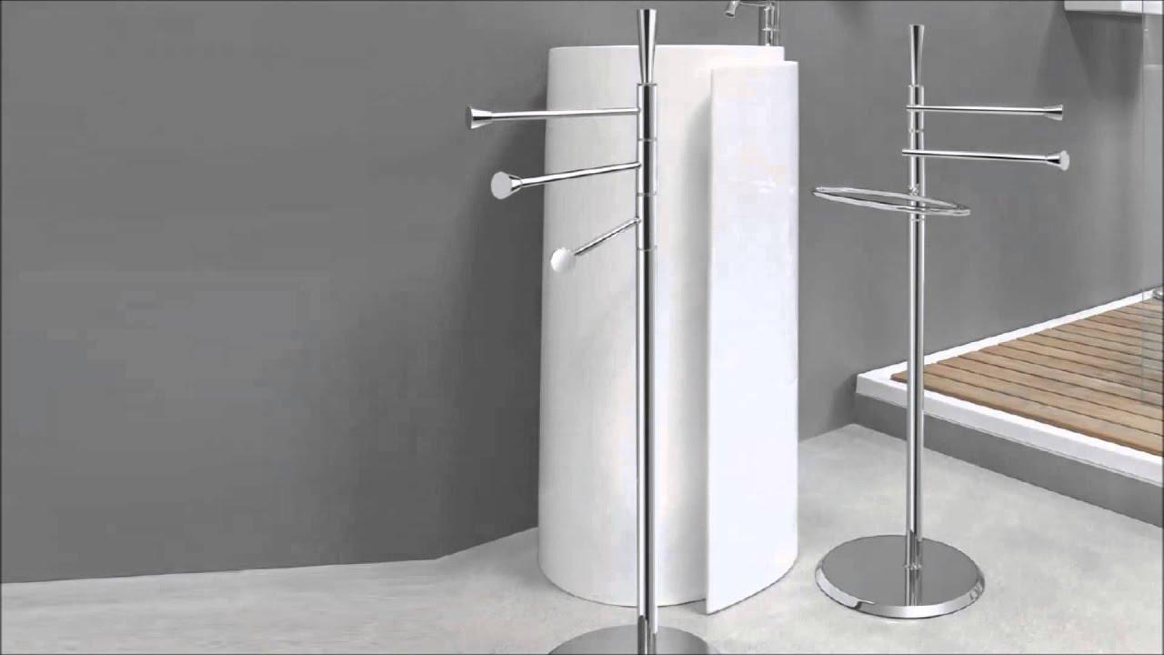 Piantane per bagno isole colombo design youtube - Bagno design srl curtarolo ...
