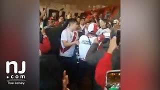 Peru soccer fans draw police presence in East Rutherford