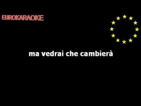'Luigi Tenco' Vedrai Vedrai   Karaoke