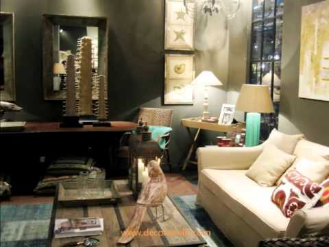 Muebles de estilo cl sico feria intergift madrid febrero 2012 becara youtube - Muebles becara ...