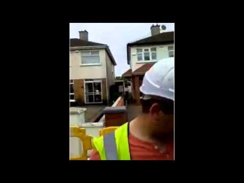 #IrishWater worker was last seen shoving women and elderly 08/05/2014