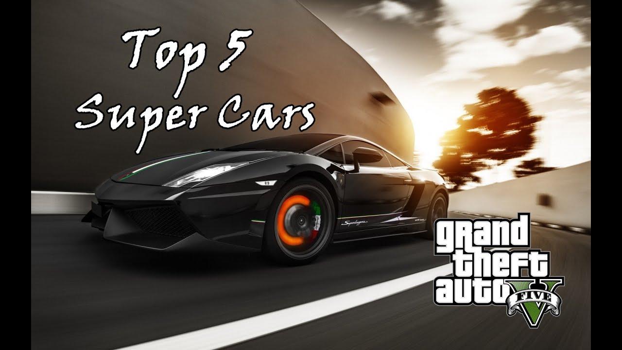 GTA V   Top 5 Most Expensive Supercar In GTA V