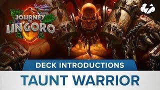 Hearthstone Deck Introduction: Taunt Warrior