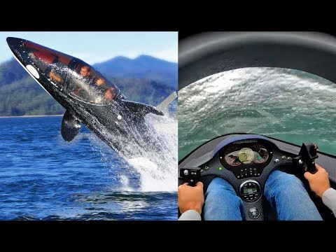 Seabreacher Semi-Submersible Dolphin-like Watercraft