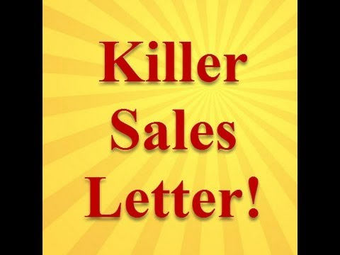 A Sales Letter For Prospecting And Lead Generation - Youtube