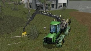"[""Farming Simulator 17"", ""Landwirtschafts Simulator 2017"", ""FS17"", ""LS17"", ""2017"", ""Forest"", ""Forestry"", ""Cable and Grapple Skidders"", ""Wood"", ""Tractor"", ""Agriculture (Industry)"", ""Farmer"", ""Tigercat"", ""Ponsse Scorpion"", ""Harvester"", ""Feller Buncher"", ""Fo"