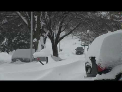 SNOW STORM ON BOWIE,MARYLAND