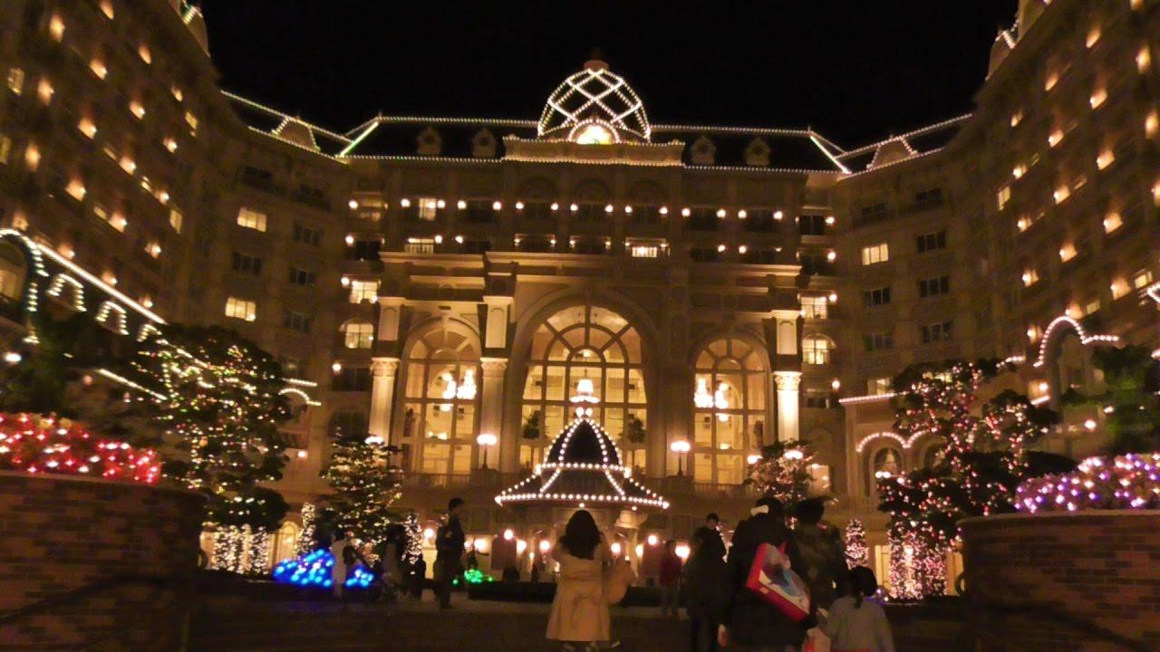 ディズニーランドホテルのクリスマスイルミネーション2016 - youtube
