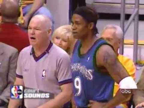 NBA Referees Wired 7 - Joey Crawford having fun, Kobe complaining