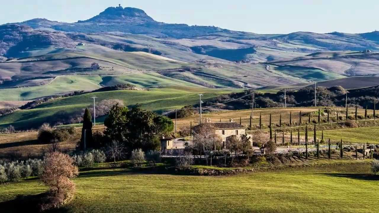 Toscana Tracce in Val D'orcia - YouTube