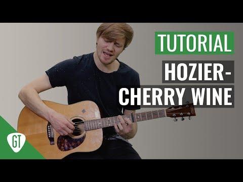 Hozier - Cherry Wine | Gitarren Tutorial Deutsch