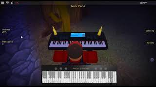 Lose Yourself - 8 Mile by: Eminem on a ROBLOX piano.