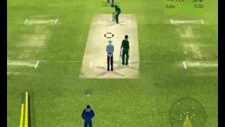 Brian Lara International Cricket 2007 Gameplay