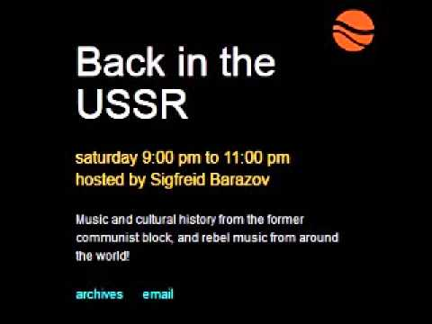 Jason Unruhe DPRK Talk on CFRU - Back In The USSR