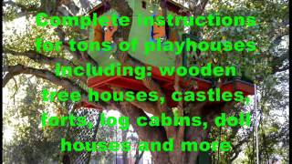 Building A Wooden Playhouse For Kids