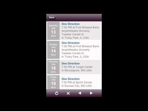 One direction tour dates 2013 'USA'