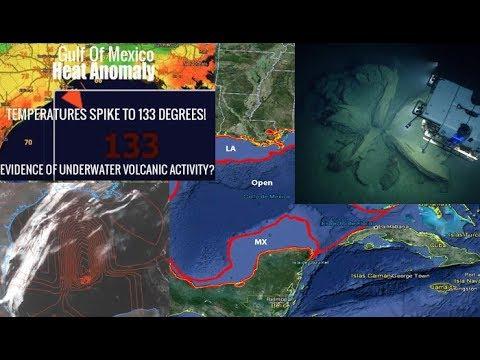 """Un """"Supervolcán"""" podría estar preparándose para la erupción en el Golfo de México"""