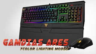 GAMDIAS ARES 7COLOR Lighting Modes