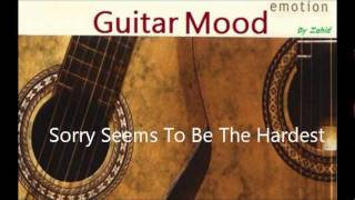 Guitar Mood - Sorry Seems To Be The Hardest Word