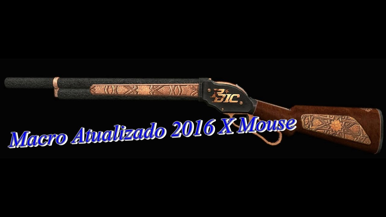 28503062333 MACRO POINT BLANK- X Mouse Botton Atualizado 2017 - YouTube