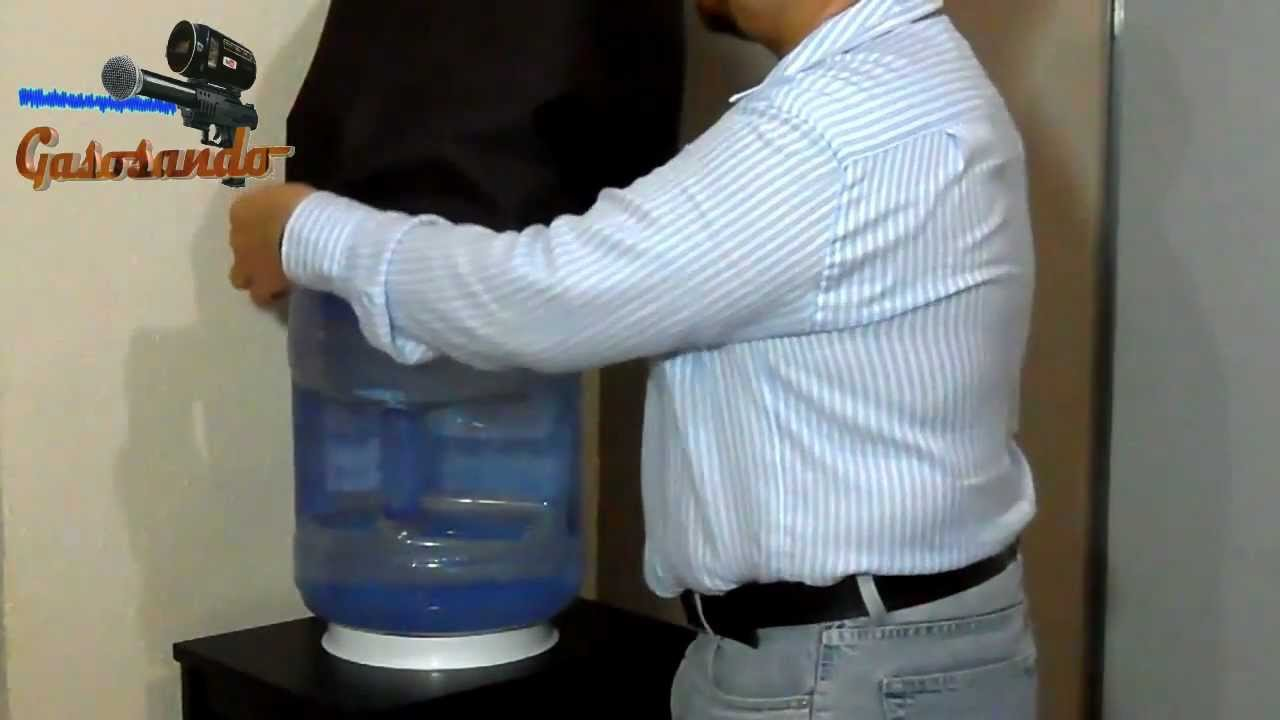 Como hacer una funda para garrafon de agua youtube for Como construir una pileta de agua