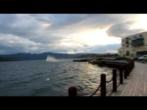 Fauske Norway Windy Day Sept. 17, 2017
