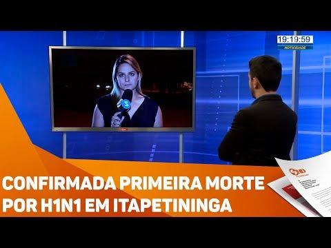 Confirmada primeira morte por H1N1 em Itapetininga - TV SOROCABA/SBT