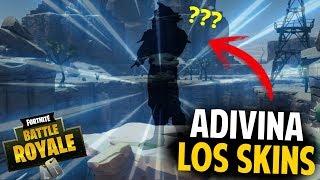 ADIVINA LA SKIN FOR ITS SILUETA - 16 SKINS TRAJES - FORTNITE CHALLENGE SERCH RC