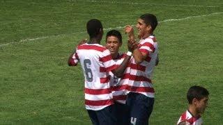 U-15 BNT vs. Uruguay: Highlights - Aug. 12, 2013
