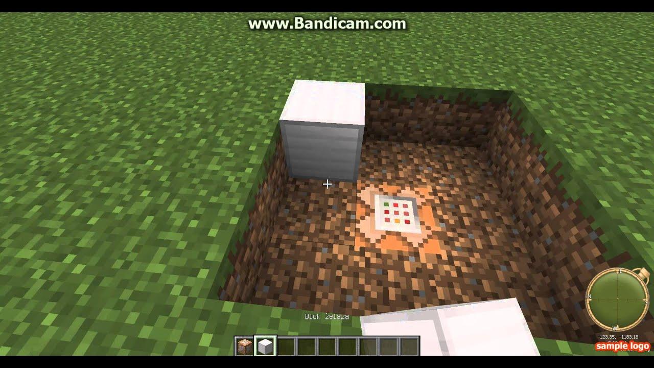 Poradnik Minecraft Jak Zrobić Trampolinę Bez Modów How To Do