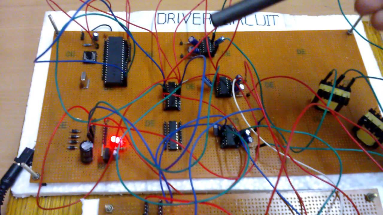 3 Phase Inverter Circuit