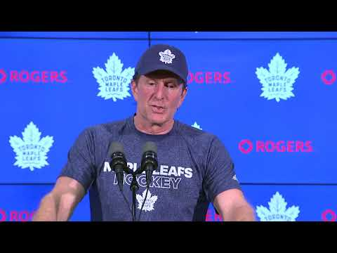 Maple Leafs Pre-Game: Mike Babcock - January 4, 2018