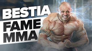 Piotr BESTIA Piechowiak na treningu przed FAME MMA