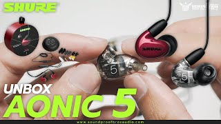 UNBOX Shure AONIC 5 Sound Isolating™ Earphones by Soundproofbros