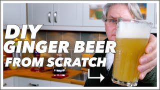 How To Make Ginger Beer At Home || Glen & Friends Cooking