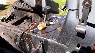 Husqvarna GT 180 Gas Gauge Repair