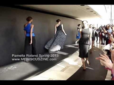 Pamella Roland Spring 2013 - New York Fashion Week - Meniscus Magazine
