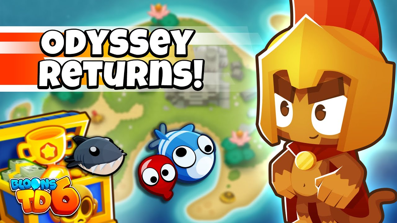 Bloons TD 6 19.0 Update -  ODYSSEY MODE, NEW HERO SKIN & MORE!