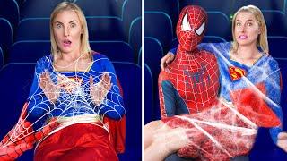 16 طريقة لتمرير الأبطال الخارقين جوا قاعة السينما