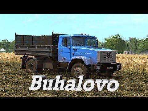 18+●Карта Buhalovo V2.5.3●Farming Simulator 17●Время полевых работ.