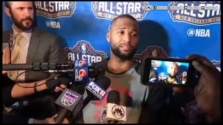 DeMarcus Cousins Full Interview After Being Informed Of Trade To The Pelicans 20-2-2017